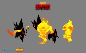 Male Fire Elemental