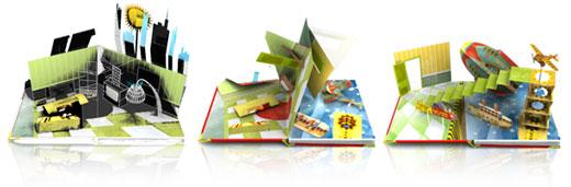 animazione libro popup